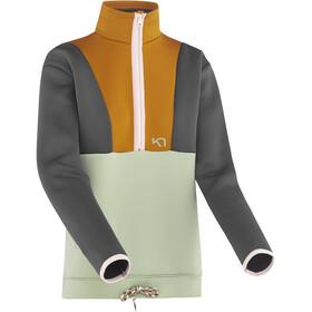 Kari Traa Sanne LS Top Damer, grå/orange